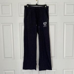 PINK Victoria's Secret Dark Gray Boyfriend Pants